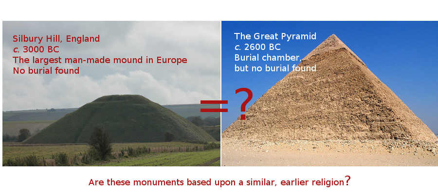 Silbury and Great Pyramid